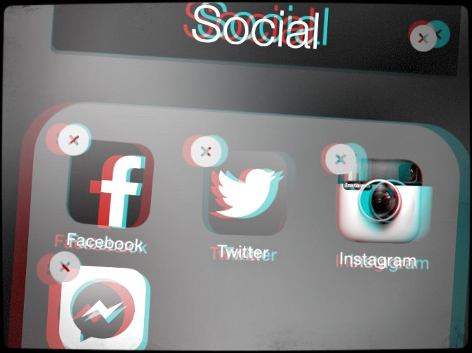 Delete Social Apps